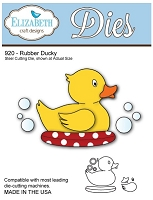 Elizabeth Craft Desings - Die - Rubber Ducky