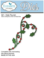 Elizabeth Craft Desings - Die - Holly Flourish