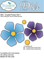 Elizabeth Craft Desings - Die - Crystal Flower Set 1