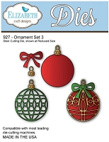 Elizabeth Craft Desings - Die - Ornament Set 3