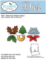 Elizabeth Craft Desings - Die - Stand Up Helpers Set 2