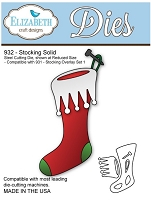 Elizabeth Craft Desings - Die - Stocking Solid