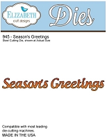 Elizabeth Craft Desings - Die - Season's Greetings