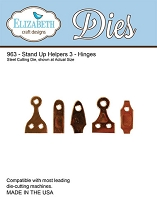 Elizabeth Craft Designs - Die - Stand Up Helpers 3 (Hinges)