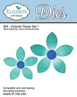 Elizabeth Craft Designs - Die - Victorian Flower Set 1