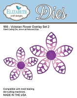 Elizabeth Craft Designs - Die - Victorian Flower Overlay Set 2