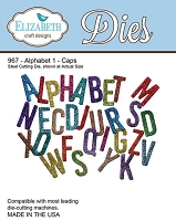 Elizabeth Craft Designs - Die - Alphabet 1 (Caps)