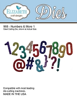 Elizabeth Craft Designs - Die - Numbers & More 1