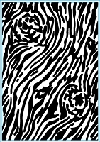 Elizabeth Craft Designs - Embossing Folder - Bark (A2)