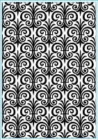 Elizabeth Craft Designs - Embossing Folder - Fleur de Lis (A2)