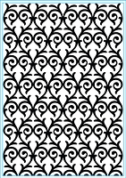 Elizabeth Craft Designs - Embossing Folder - Heart Entwined (A2)
