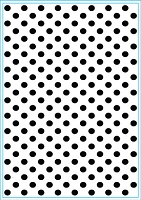 Elizabeth Craft Designs - Embossing Folder - Lots of Dots (A2)