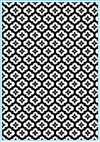 Elizabeth Craft Designs - Embossing Folder - Mini Mosaic (A2)