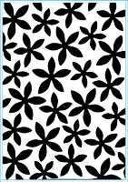 Elizabeth Craft Designs - Embossing Folder - Petal Power (A2)