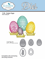Elizabeth Craft Designs - Die - Easter Eggs