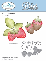 Elizabeth Craft Designs - Die - Strawberries