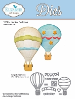 Elizabeth Craft Designs - Die - Hot Air Balloons