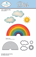 Elizabeth Craft Designs - Die - Rainbow Sky