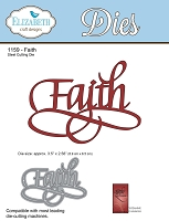 Elizabeth Craft Designs - Die - by Suzanne Cannon - Faith