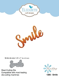 Elizabeth Craft Designs - Die - Smile