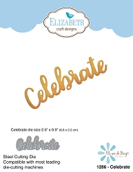 Elizabeth Craft Designs - Die - Celebrate