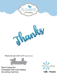 Elizabeth Craft Designs - Die - Thanks