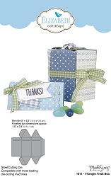 Elizabeth Craft Designs - Die - Triangle Treat Box by ModaScrap