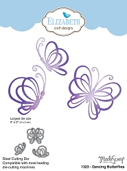 Elizabeth Craft Designs - Die - Dancing Butterflies by ModaScrap