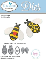Elizabeth Craft Designs - Die - Bee
