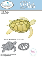 Elizabeth Craft Designs - Die - Turtle