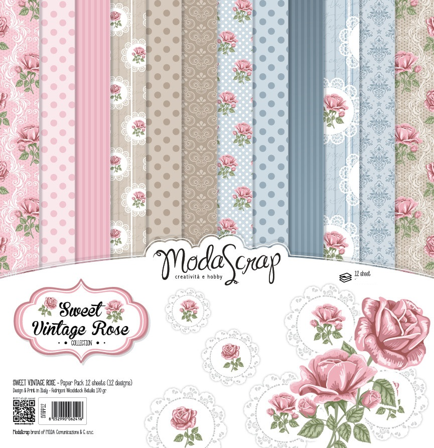 Elizabeth Crafts - new ModaScrap 6x6 Paper Packs