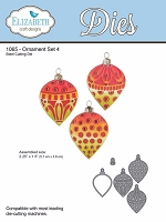 Elizabeth Craft Designs - Die - Ornament Set 4