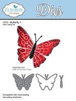 Elizabeth Craft Designs - Die - Large Butterfly 1