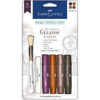 Faber-Castell - new Gelatos Steampunk color set