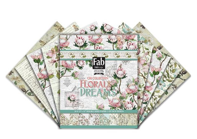 FabScraps - Floral Dreams Collection