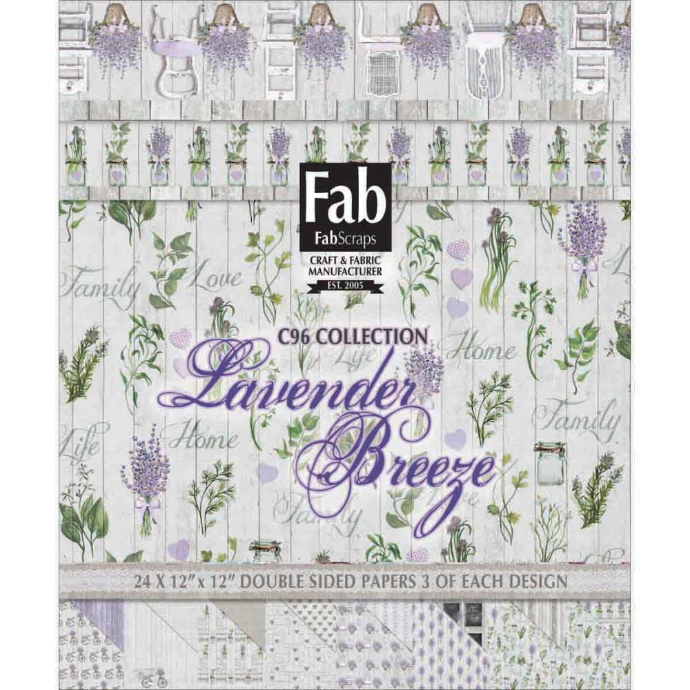 FabScraps - Lavender Breeze Collection
