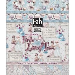 Fab Scraps - For The Love of Tea Collection - 12