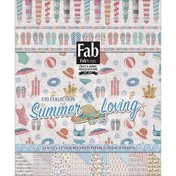 Fab Scraps - Summer Loving Collection - 12