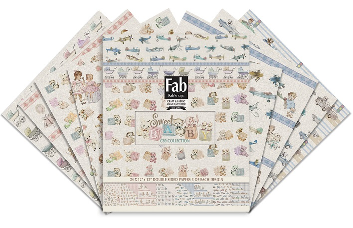 Fab Scraps - Sweet Baby Collection