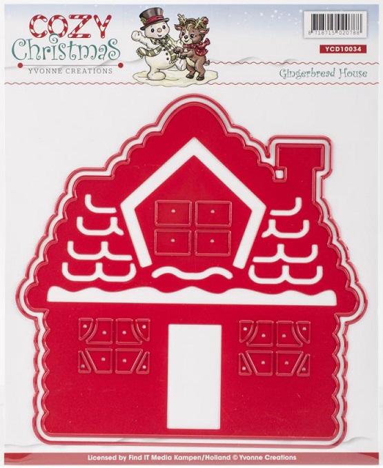 Amy Bradley Designs Gingerbread Houses: Yvonne Creations Die