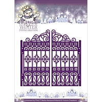Find It Trading - Yvonne Creations Die - Magical Winter Ornate Gate