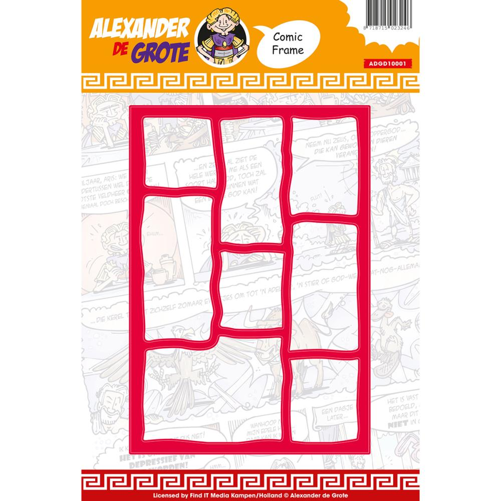 find it trading alexander de grote die comic frames