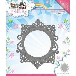 Find It Trading - Yvonne Creations Die - Tots & Toddlers Rectangle Frame