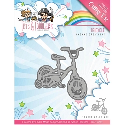 Find It Trading - Yvonne Creations Die - Tots & Toddlers Tricycle