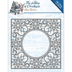 Find It Trading - Amy Design Die - The Feeling of Christmas Ice Crystal Frame