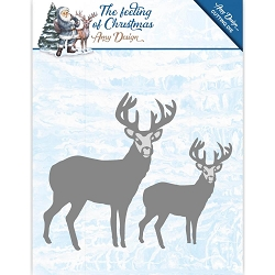 Find It Trading - Amy Design Die - The Feeling of Christmas Christmas Reindeers