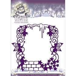 Find It Trading - Yvonne Creations Die - Magical Winter Magical Frame
