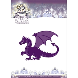 Find It Trading - Yvonne Creations Die - Magical Winter dragon