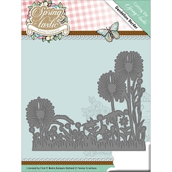 Find It Trading - Yvonne Creations Die - Spring-Tastic Dandelion Border
