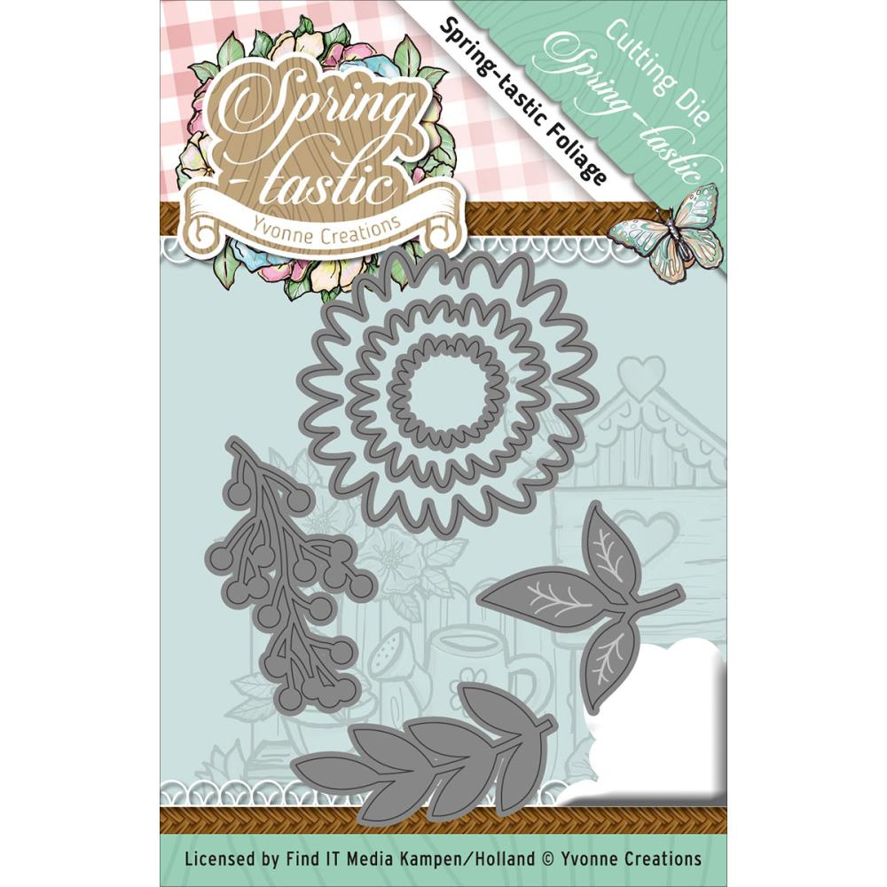 Find-It Trading - Spring-Tastic dies by Yvonne Creations
